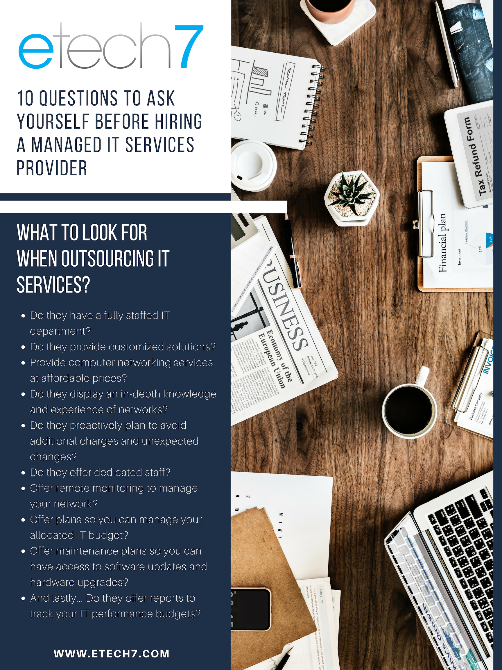 What to look for in an IT services provider?