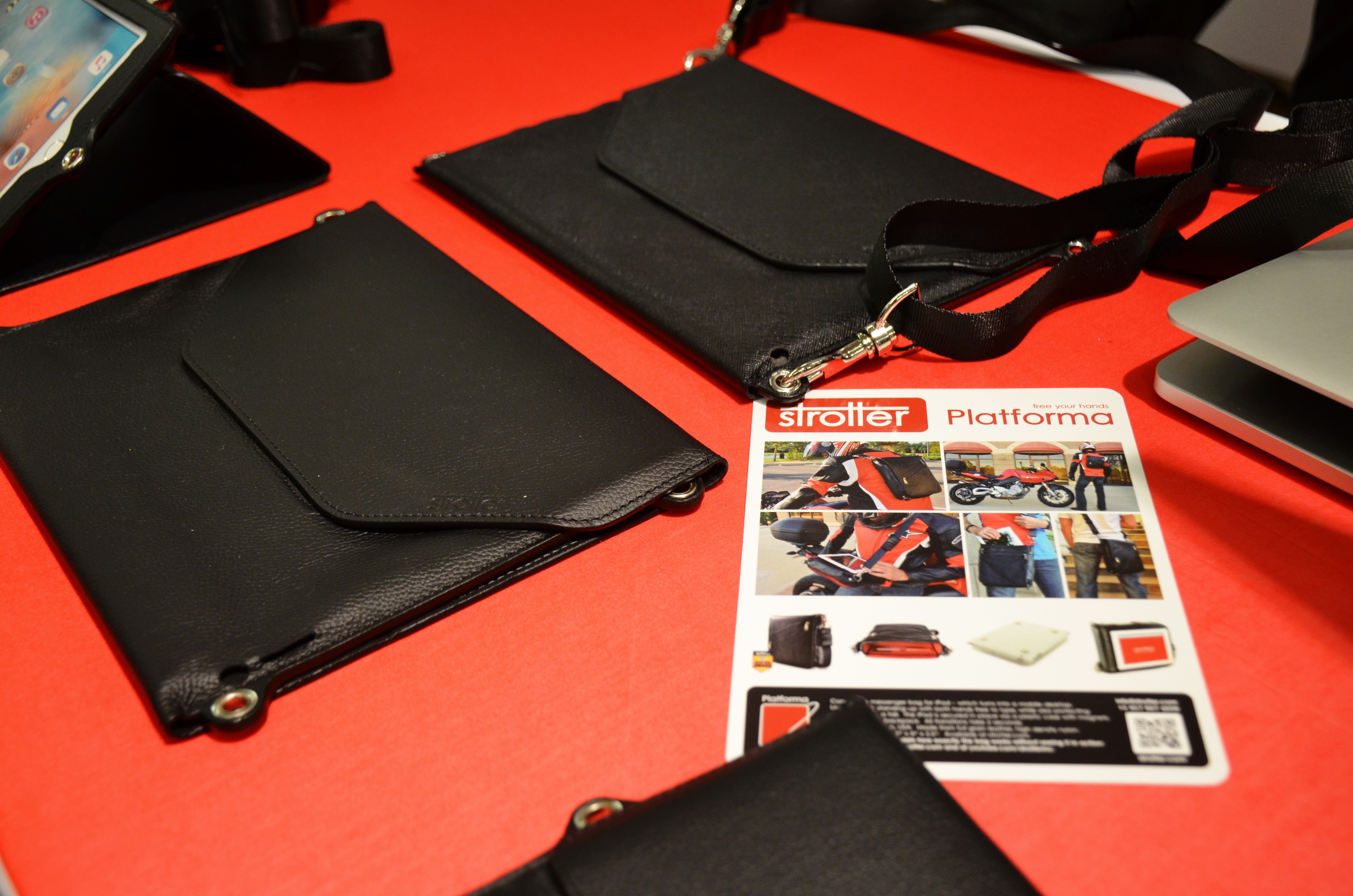 Strotters Across hands free IPad case