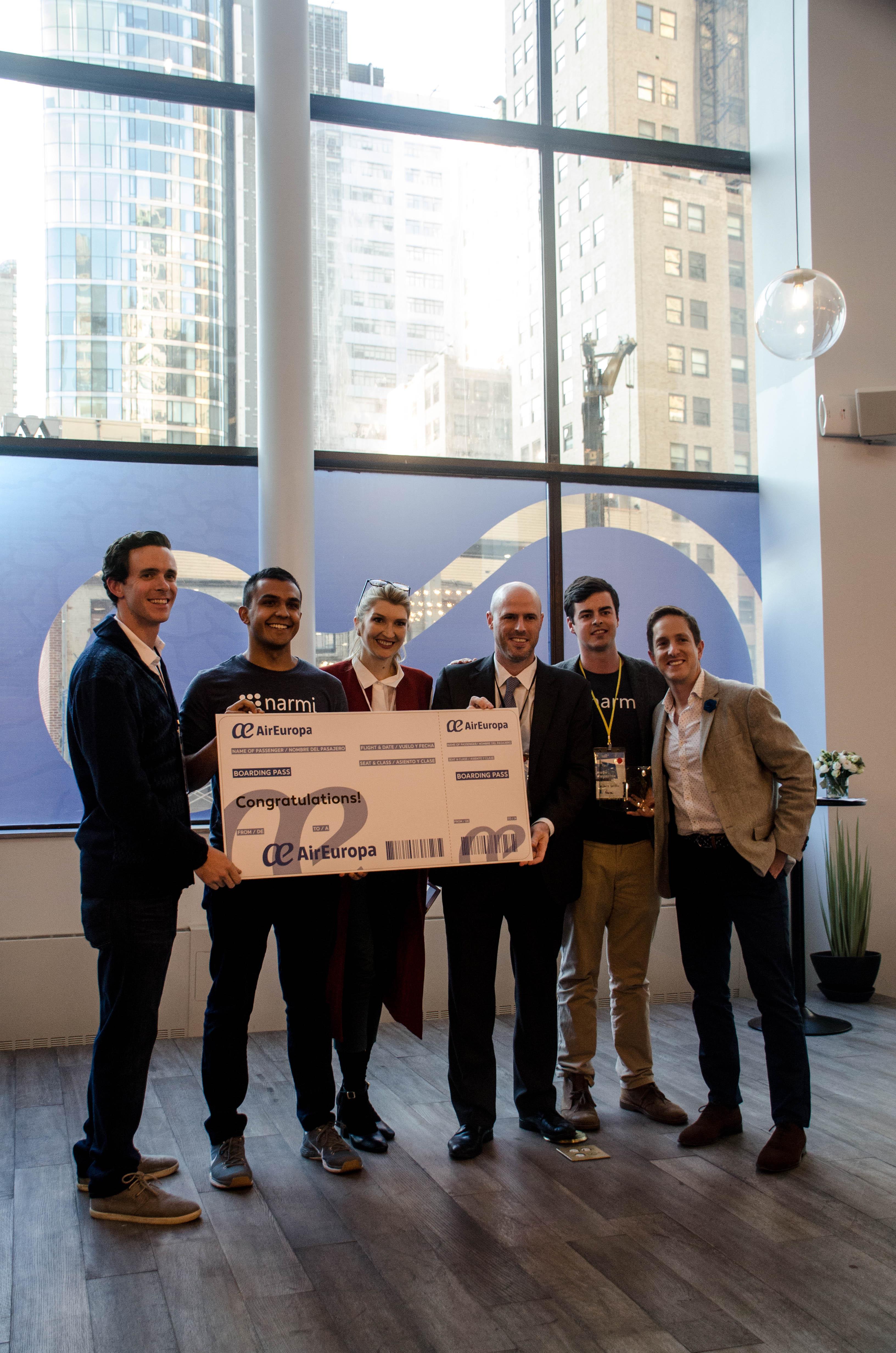 FinTech Venture Day winner Narmi