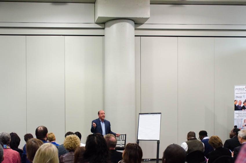 Guest speaker Bill Walsh