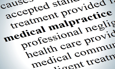 malpratice due to medical mistakes