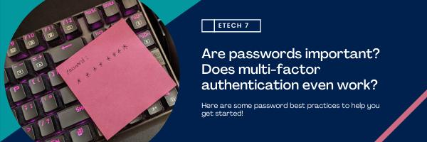 password best practices