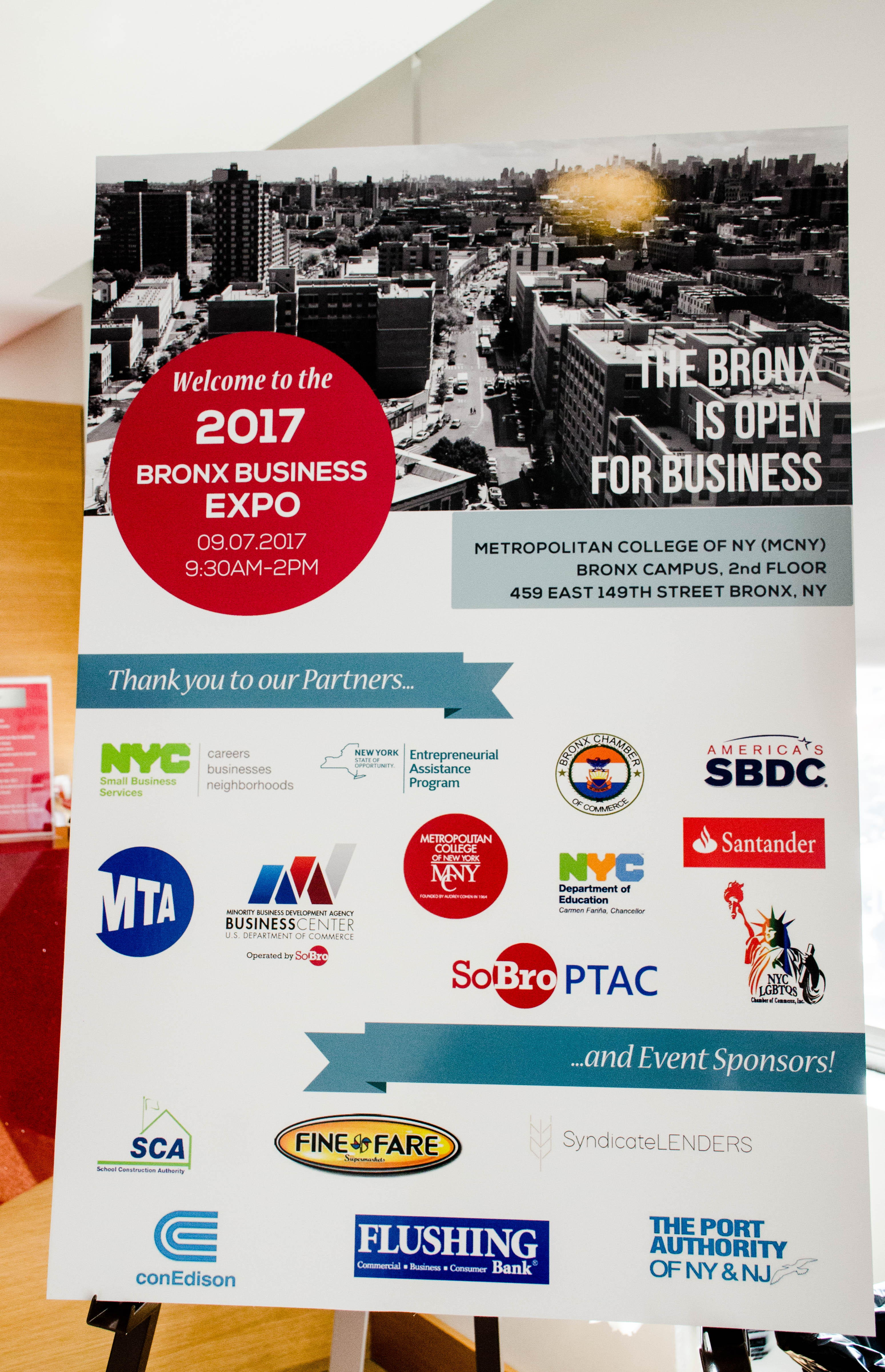 Partners and event sponsors
