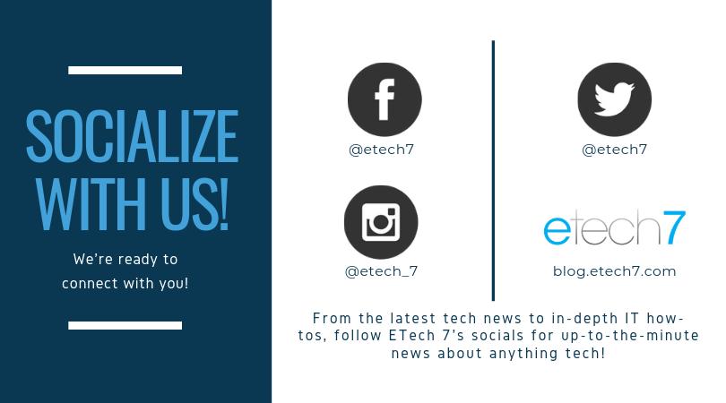 ETech 7 Social Media